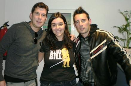 Belén con Andy y Lucas